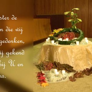 Einde kerkelijk jaar 2013