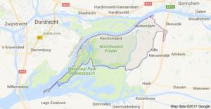 kaart Werkendam